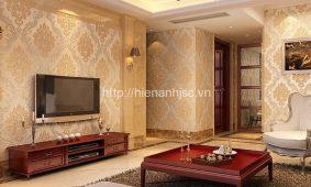 Mẫu giấy dán tường trang trí phòng khách | Giấy dán tường cao cấp