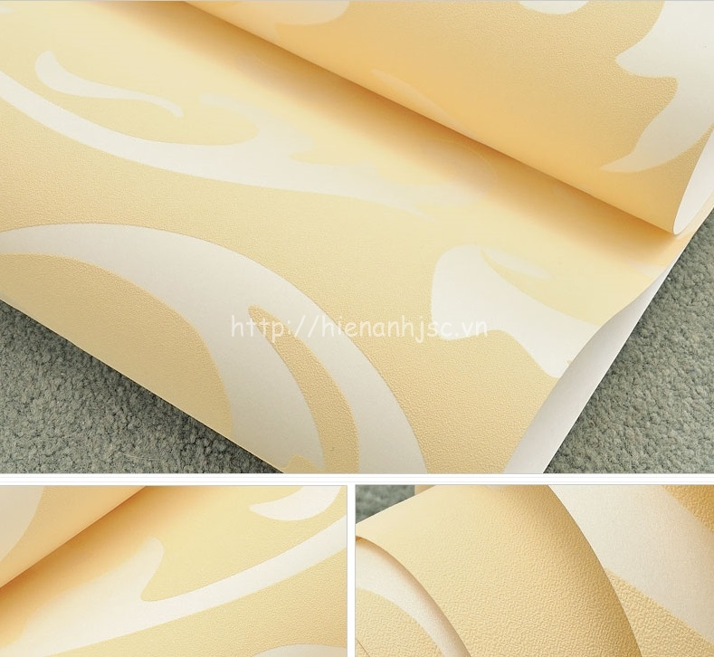 Giấy dán tường 3D - Họa tiết hoa văn cách điệu 3D017