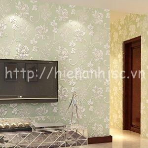 Giấy dán tường họa tiết dây leo phòng ngủ - 3D019