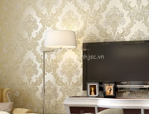 Giấy dán tường hoa văn dập nổi - 3D025