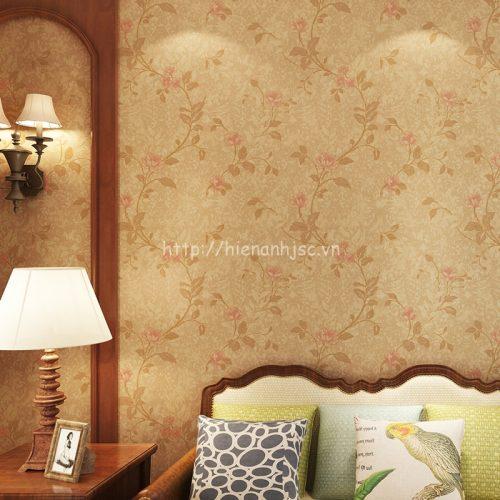 Giấy dán tường họa tiết hoa hồng - 3D027