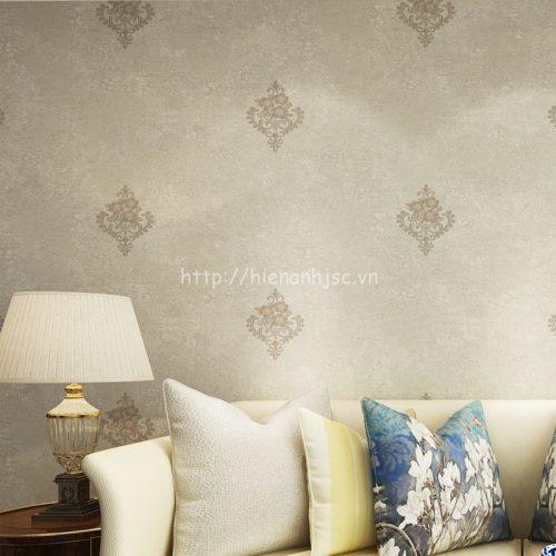 Giấy dán tường họa tiết hoa đơn giản - 3D028