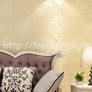 Giấy dán tường họa tiết hoa văn châu Âu - 3D034