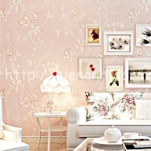 Giấy dán tường họa tiết hoa lá phong cách - 3D037