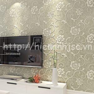 Giấy dán tường họa tiết dây leo phong cách - 3D038