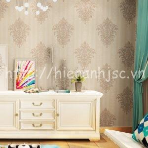 Giấy dán tường hoa văn cách điệu phòng ngủ - 3D041