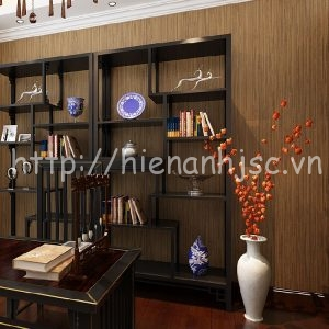 Giấy dán tường tạo biển ren phòng khách - 3D016