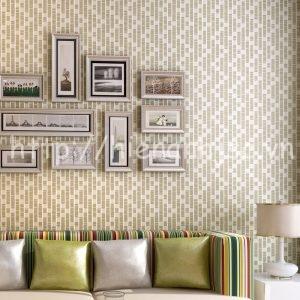 Giấy dán tường 3D họa tiết đơn giản phòng khách - 3D058