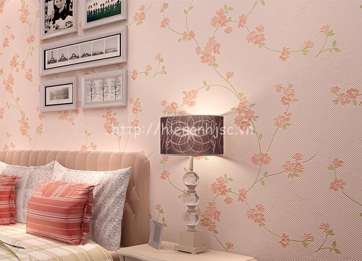 Giấy dán tường trang trí phòng tân hôn - 3D059