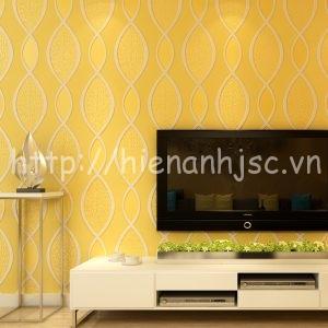 Giấy dán tường họa tiết tươi sáng đơn giản - 3D060