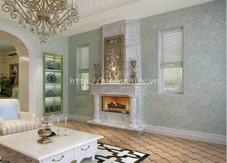 Giấy dán tường phòng khách hiện đại - 3D066