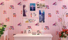 Các mẫu giấy dán tường phòng ngủ trẻ em 3D và 5D đẹp giá rẻ nhất