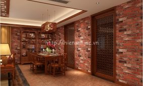 Giấy dán tường bếp | Mẫu giấy dán tường phòng bếp cao cấp