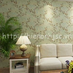 3D084-5-Giấy dán tường 3D họa tiết hoa đào