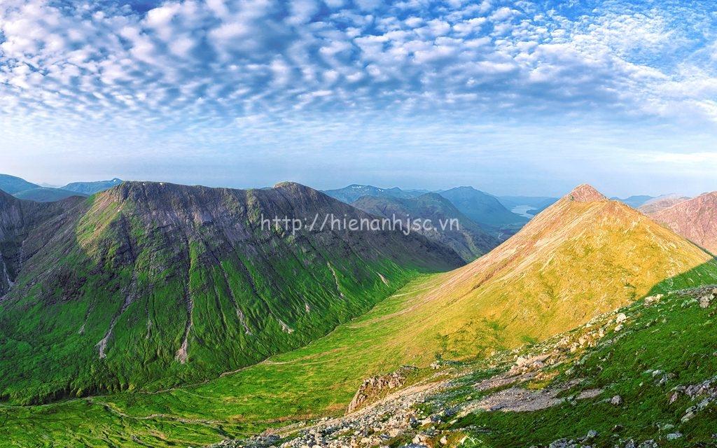 Tranh dán tường 5D - Tranh sườn núi hùng vĩ 5D032