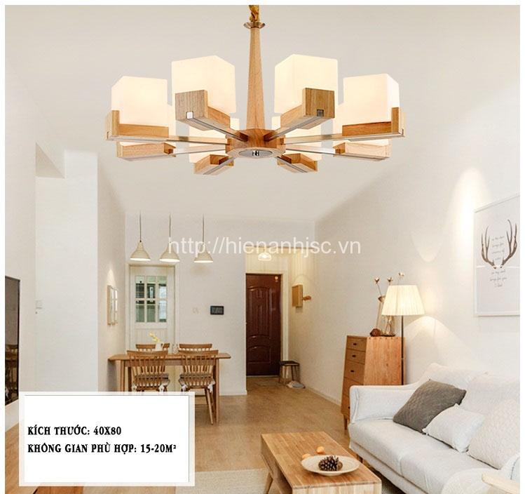 Đèn chùm phòng khách-Đentrumkhunggohinhhop-7
