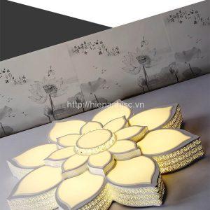 Đèn trần trang trí hình bông sen-7-HinhBongSen