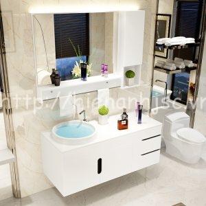 bộ tủ chậu kệ gương phòng tắm nhập khẩu My 3088 (3)