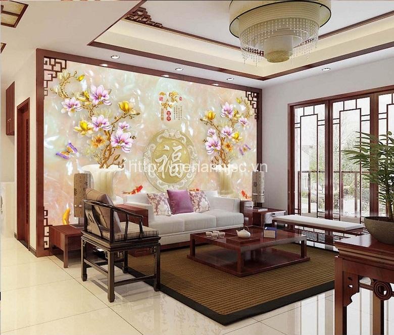 Chuyên cung cấp tranh dán tường 3D khổ lớn Hà Nội Tranh-d%C3%A1n-tuong-5d-binh-ngoc-va-cuu-ngu
