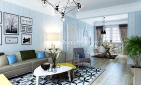 Lựa chọn giấy dán tường 3D phòng khách sáng tạo và phù hợp