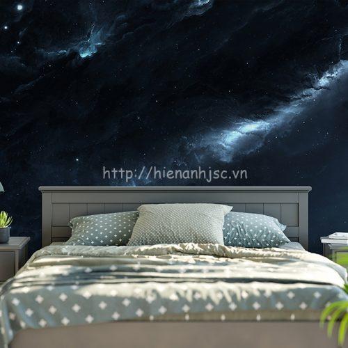 Tranh dán tường 3D khổ lớn phòng ngủ