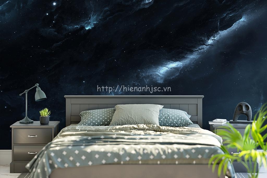 Tranh dán tường 5D khổ lớn phòng ngủ - 5D054