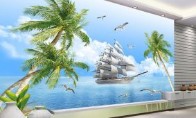 Giấy dán tường 3D 5D tại Quảng Bình | Giấy dán tường cao cấp giá rẻ