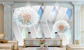 Giấy dán tường 3D 5D tại Phú Yên   Tranh dán tường 5D đẹp giá rẻ