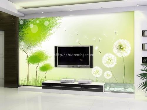 5D072-3-tranh hoa bo cong anh phoi cay xanh