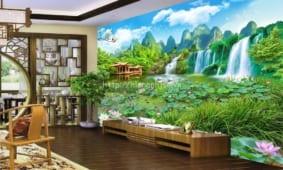 Giấy dán tường tại Tây Ninh | Chuyên giấy dán tường 3D 5D giá rẻ