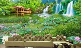 Những bức tranh hiệu ứng 5D sắc nét cho phòng nhà