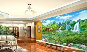 Giấy dán tường 3D 5D tại Ninh Bình | Chuyên giấy dán tường rẻ đẹp