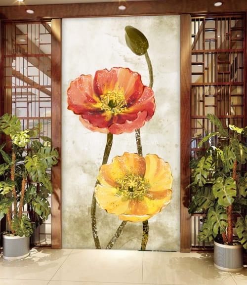 5d042-5-tranh 3D hoa ve tay hanh lang