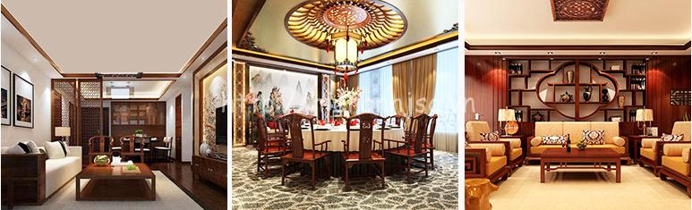 Đèn chùm trang trí chất liệu gỗ phong cách Trung Hoa cổ