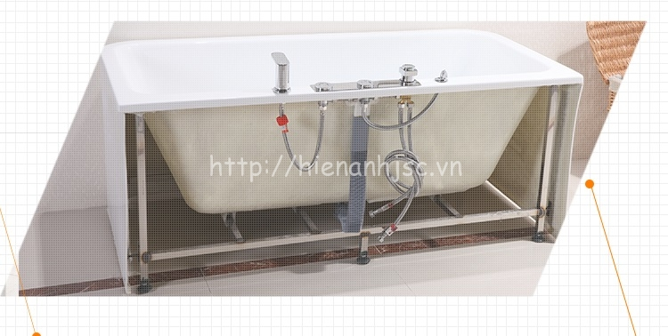 Bồn tắm nằm cao cấp Hiển Anh BT001