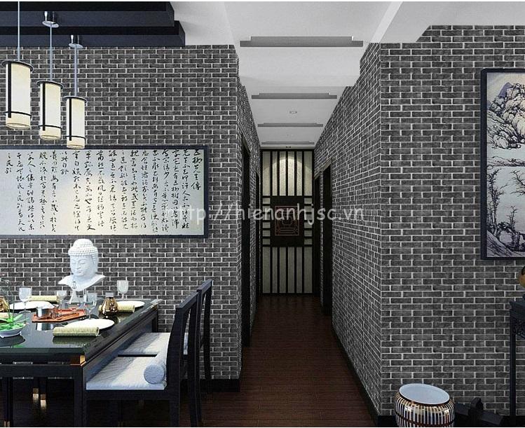Giấy dán tường 3D - Giấy dán tường họa tiết giả gạch 3D092