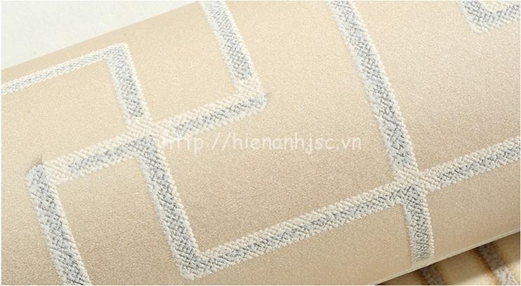 Giấy dán tường 3D - Họa tiết đan đơn giản phong cách Trung Quốc - Xám