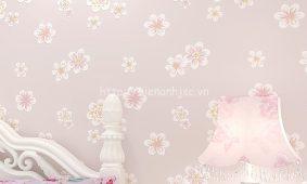 Các mẫu giấy dán tường 3D và tranh 5D họa tiết hoa độc đáo nhất