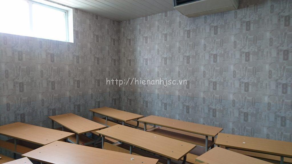 Phòng học Úc với họa tiết chữ số trang trí ấn tượng, hiện đại