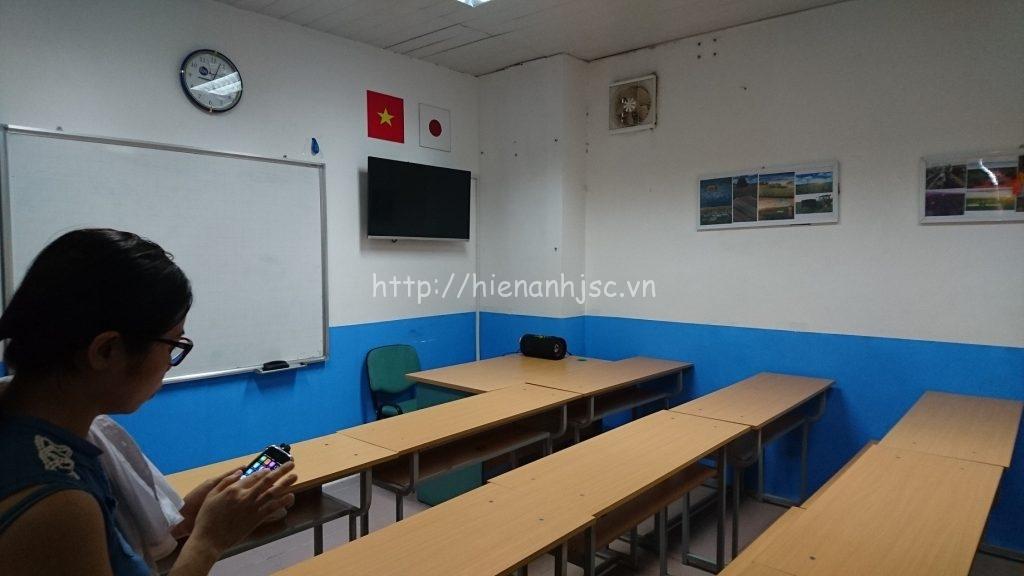 Phòng học Nhật Bản trước thi công với những chi tiết trang trí rườm rà