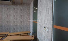 Công trình thi công giấy dán tường phòng học tại Hà Nội