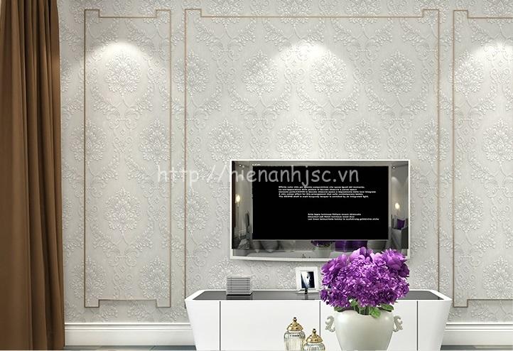 Giấy dán tường 3D - Họa tiết hoa văn cách điệu 3D149 màu 7