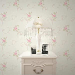 3D153-5-giay dan tuong 3d hoa tiet hoa hong