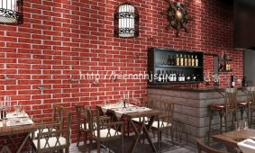 Giới thiệu mẫu giấy dán tường đẹp cho phòng ăn