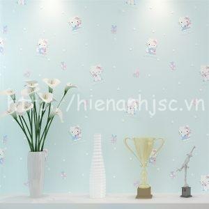 3D170-1-giay dan tuong 3d hoa tiet meo hello kitty cho be