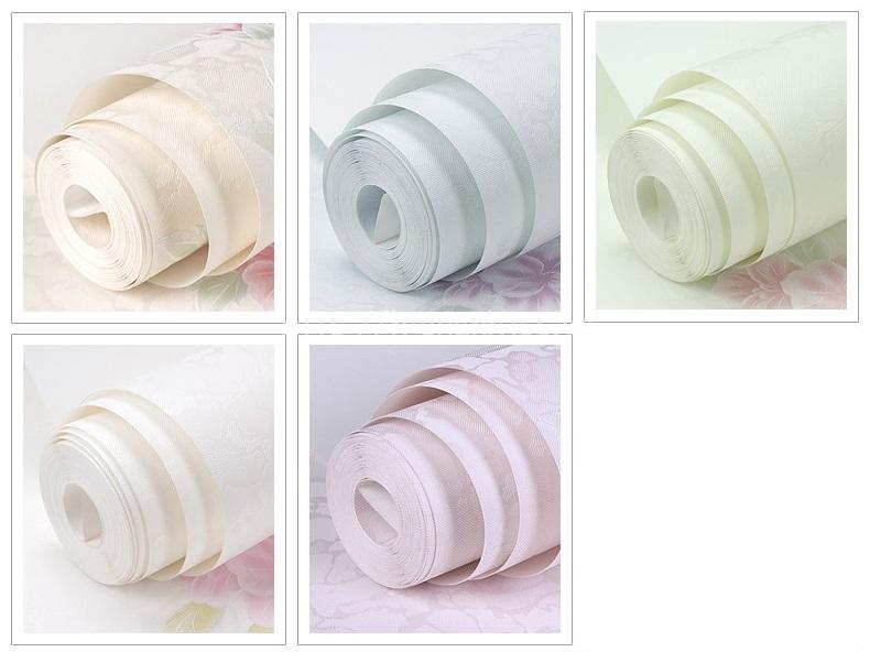 5 màu sắc trẻ trung tươi sáng của giấy dán tường hoa văn bình dị