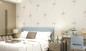 Giấy dán tường phòng ngủ hiện đại | Giấy dán 3D phòng ngủ