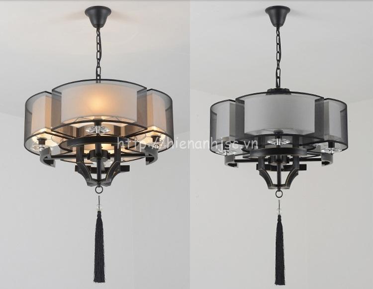 So sánh đèn trang trí khi bật và tắt nguồn điện