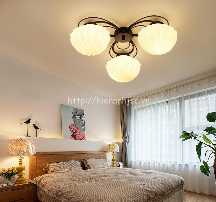 Đèn trần trang trí phòng khách phong cách Bắc Âu DTT034