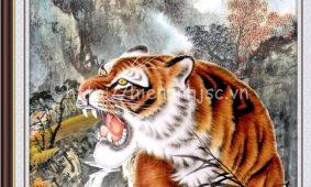 Ý nghĩa của tranh hổ 3D, tranh hổ xuống núi, hổ đấu 5D dán tường